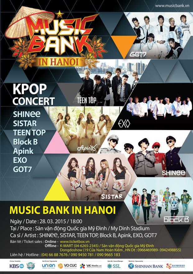 Nếu đây là dàn line-up chính thức: Xin lỗi, Music Bank World Tour năm nay quá nhạt!