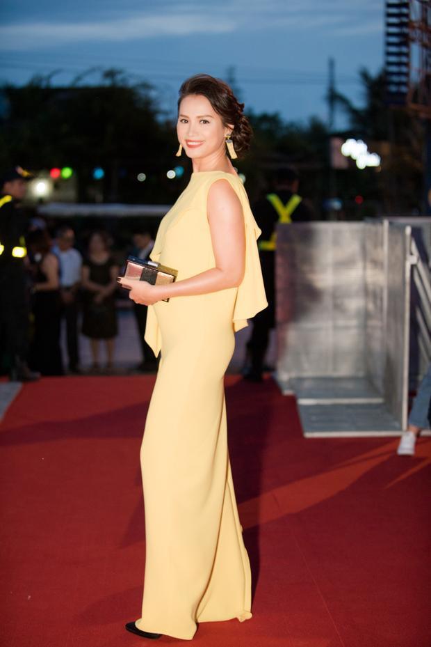 Ngọc Khánh bất ngờ xuất hiện tại đêm Chung khảo phía Bắc Hoa hậu Việt Nam 2018.