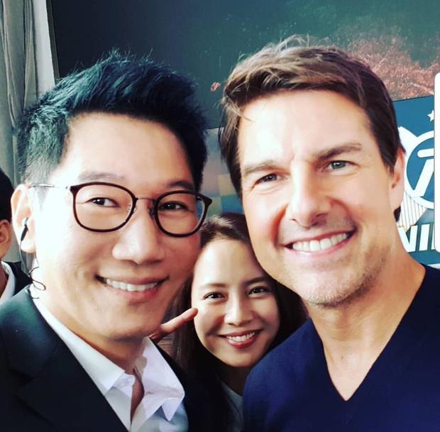 Bất ngờ khi Tom Cruise, Henry Cavill và Simon Pegg 'cân' hết tám thành viên 'Running Man'