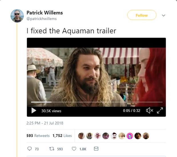 Video của Patrick Willems đã nhận được hơn 30 nghìn lượt xem.