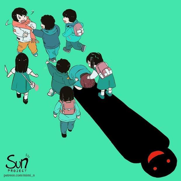 Nạn bắt nạt học đường có thể biến những cô cậu học sinh hiền lành, ngoan ngoãn trở thành một con quỷ khi lớn lên. Bởi chúng luôn luôn ám ảnh về những gì mà chúng từng phải chịu đựng của thời đi học