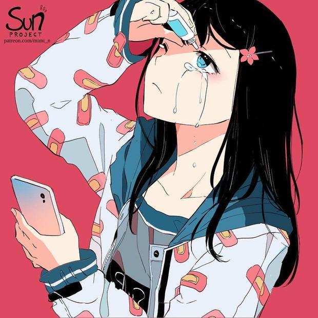 Trên mạng xã hội, kể cả nỗi buồn cũng phải giả tạo.