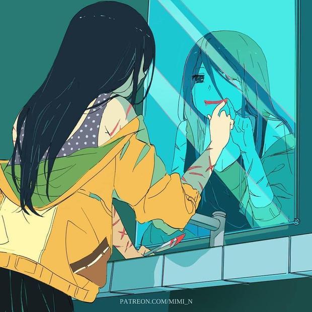 Đa số những người trầm cảm đều không bộc lộ cảm xúc của họ ra ngoài nhiều. Bởi họ ngụy trang quá tốt.