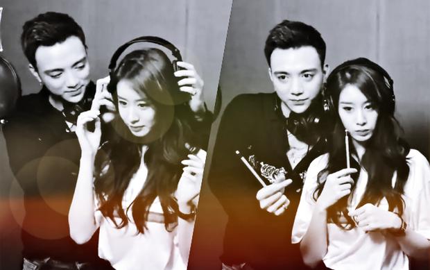 Jiyeon và Soobin vô cùng thân thiết trong hậu trường thu âm ca khúc Đẹp nhất là em.
