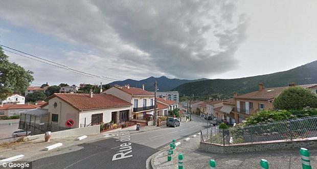 Ngôi làngLe Perthus của Pháp. Ảnh: Google