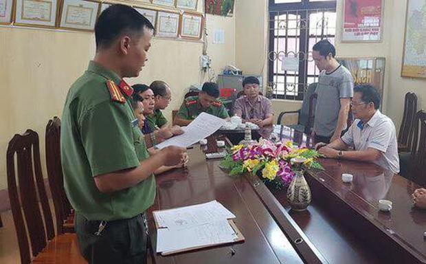 Đối tượng Vũ Trọng Lương đã bị bắt tạm giam và khởi tố trước hành vi can thiệp và điểm thi của mình.