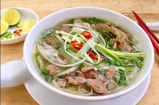 Phở Việt Nam xuất sắc giành chiến thắng trong cuộc thi