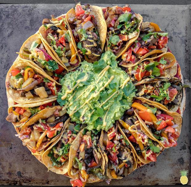 Taco, món ăn đặc sản của đất nước Mexico cũng lọt vào vòng chung kết