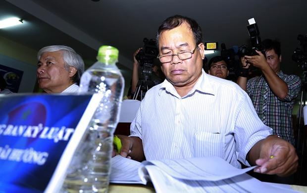 Trưởng Ban kỷ luật VFF - Nguyễn Hải Hường thường có những án phạt khó hiểu.
