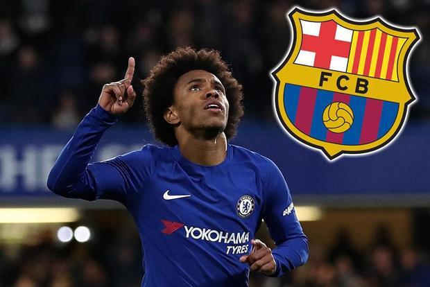 Muốn có Willian, Barca phải đầu tư 70 triệu bảng.