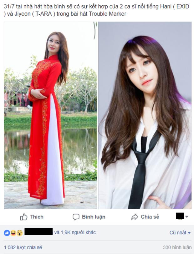 Bài đăng của tài khoản Facebook đang nhận được sự quan tâm đặc biệt.