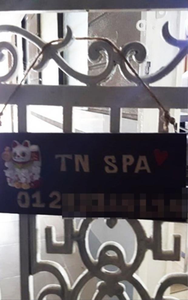 Cơ sở spa nằm trong chung cư, nơi xảy ra vụ việc tiêm filler gây mù mắt khách hàng, được xác định là hoạt động không phép.