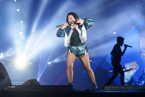 Demi đã từng đến Việt Nam biểu diễn tại một sự kiện âm nhạc lớn hồi năm 2015.