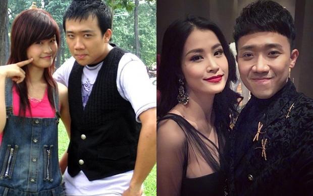 Sau 9 năm, nhan sắc của cả Trấn Thành và Đông Nhi đều có sự thay đổi vượt bậc cũng như vị trí ngôi sao hiện tại trong showbiz.