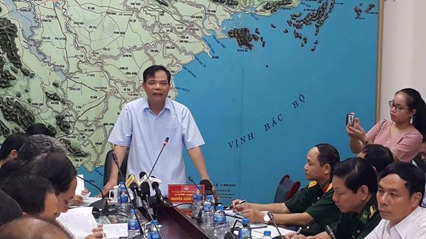 Ông Nguyễn Xuân Cường, Bộ trưởng Bộ Nông nghiệp và Phát triển Nông thôn Việt Nam, Trưởng ban chỉ đạo Trung ương về phòng chống thiên tai.