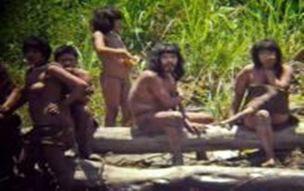 Hình ảnh bộ lạc Maschopiro ở Peru. Ảnh: Odditycentral