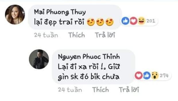 Nhũng hình ảnh và tin nhắn trước đây của Noo Phước Thịnh và Mai Phương Thúy bất ngờ xuất hiện trên mạng xã hội.