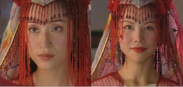 """Đây là outfit cưới được Trần Pháp Dung và Thái Thiếu Phân thay phiên nhau tái hiện trong """"Thủy nguyệt động thiên""""."""