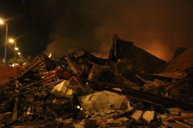 Nhiều tài sản của người dân bị cháy rụi.