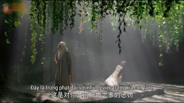 Sư phụ của Vô Cực đã xuất hiện mang theo sự trừng phạt cho đồ đệ và uy hiếp cho tính mạng của Phù Dao
