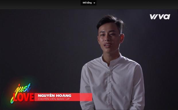 """Nguyễn Hoàng - chuyên viên make up: """"Nếu nói LGBT là 1 căn bệnh thì không đúng đúng, vì cha mẹ sinh con, trời sinh tính. Không ai có quyền quyết định giới tính bẩm sinh của mình"""""""