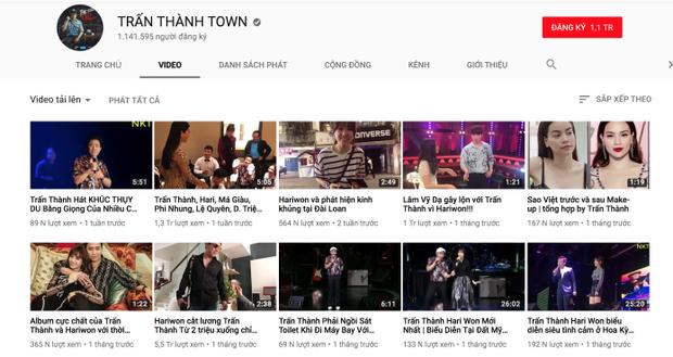 Tương tác và chăm chút cho kênh youtube thường xuyên, việc Trấn Thành trở thành nam danh hài đầu tiên đạt 1 triệu lượt là điều vô cùng dễ hiểu.
