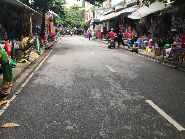 Khu phố nơi anh H. bị nhóm đối tượng truy sát