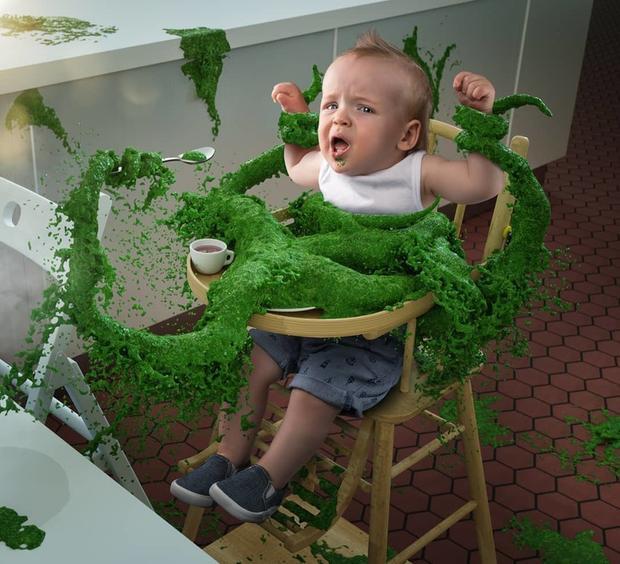 Đây là những điều 'kì diệu' xảy ra khi bạn có một ông bố giỏi Photoshop