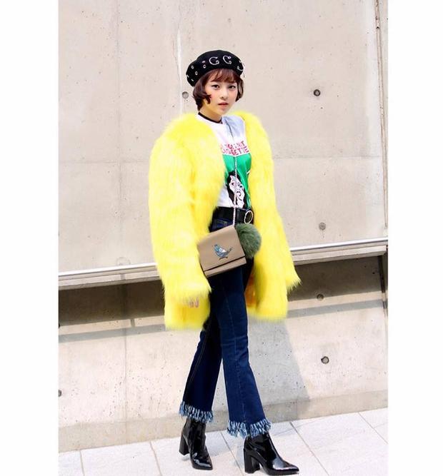 Với vẻ bề ngoài mảnh mai, Triều Dâng chọn cho mìnhphong cách thời trang có màu sắc riêng, song vẫn phù hợp sắc vóc.Hình ảnh của một IT girl năng động, thời thượng là những gì cô nàng này đã và đang hướng tới.