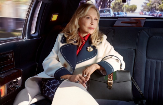 Nữ diễn viên gạo cội của điện ảnh Hollywood Faye Dunaway là nhân vật chính trong chiến dịch quảng cáo mới nhất của nhà mốt.