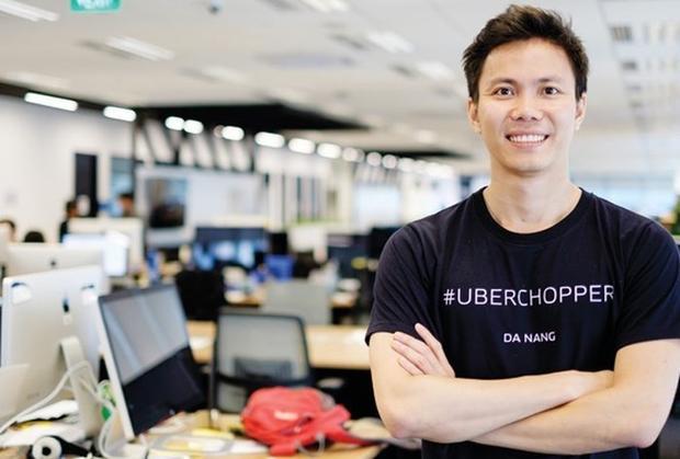 Cựu thí sinh Olympia - Đặng Việt Dũng từng đảm nhận chức vụ giám đốc Uber Việt Nam.Ảnh:Uber Vietnam.