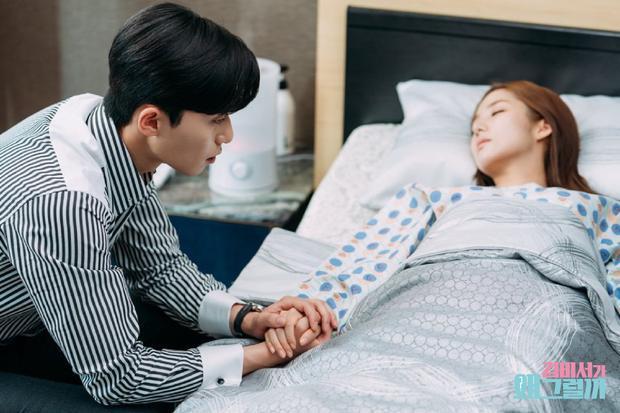 Lo lắng khi Mi So nhập viện.