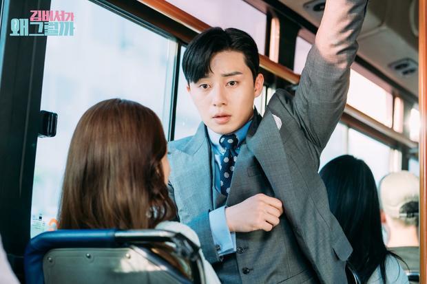 Lần đầu đi xe bus cùng nhau.