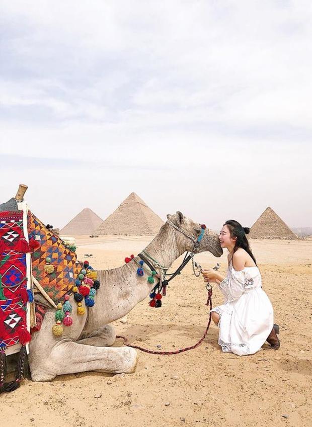 Không chỉ có nắng, cát và lạc đà, cô gái xinh đẹp này đã chứng minh Ai Cập thật sự là thiên đường cần ghé thăm một lần trong đời!