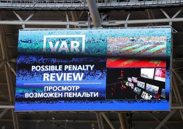 V.A.R được xem là một thành công tại World Cup 2018.