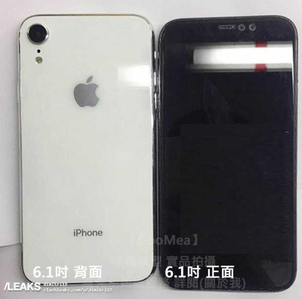 Nóng: Thiết kế iPhone X Plus (6,5 inch) và iPhone (6,1 inch) tiếp tục rò rỉ rõ nét