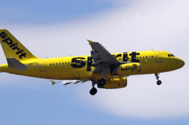 Một máy bay của Spirit Airlines. Ảnh: AP