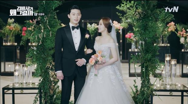 Hình ảnh cặp đôi Park - Park trong phim Thư ký Kim sao thế.