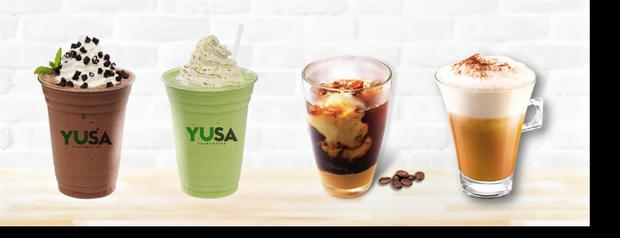 """Các loại cà phê, đá xay mang đậm phong cách Việt nhưng phảng phất đâu đó một chút rất """"Tây"""" dưới sự phá cách của chuyên gia Osamu Shida."""