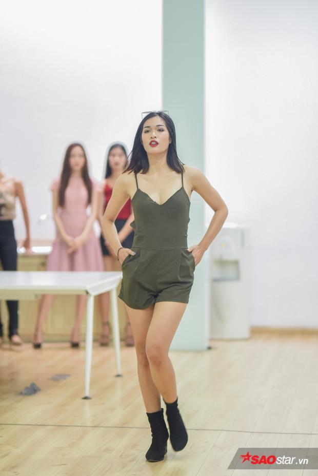 Mai Anh là một trong số các cô gái sở hữu vẻ ngoài cá tính nhất tại Siêu mẫu Việt Nam năm nay.