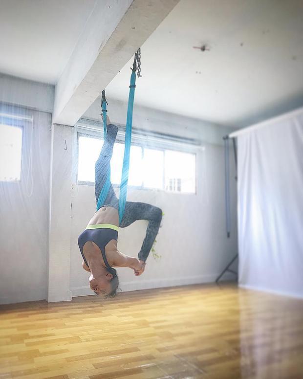 Chăm chỉ tập yoga để sở hữu vóc dáng săn chắc, nuột nà.