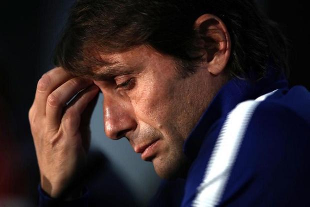 Conte đang thất nghiệp sau khi bị Chelsea sa thải. Ảnh: Getty.