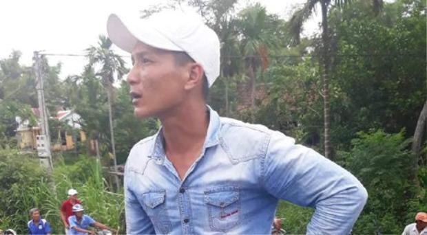 Anh Nguyễn Hữu Thành (quê Long An), tài xế xe container