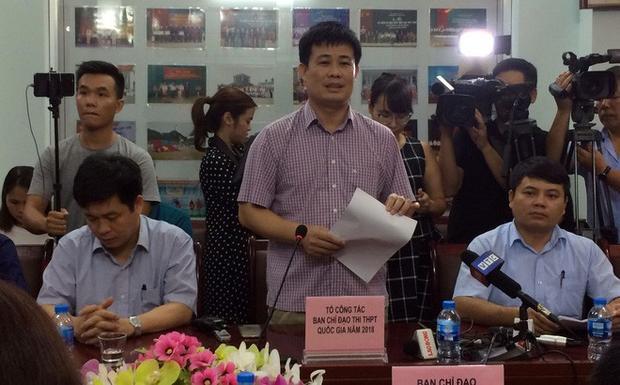 Ông Sái Công Hồng, Phó Cục trưởng Cục Kiểm định chất lượng giáo dục (Bộ GD&ĐT). Ảnh: Hoàng An.