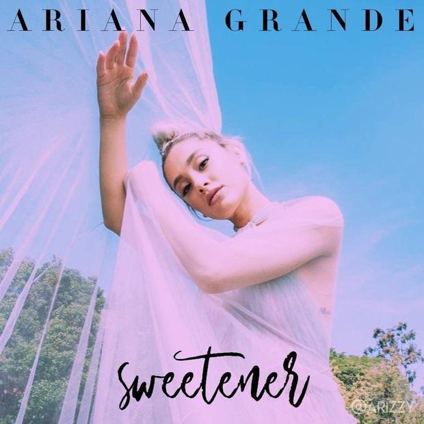 Sweetener ban đầu vốn dĩ là cái tên được đặt cho album thứ tư của Ariana.