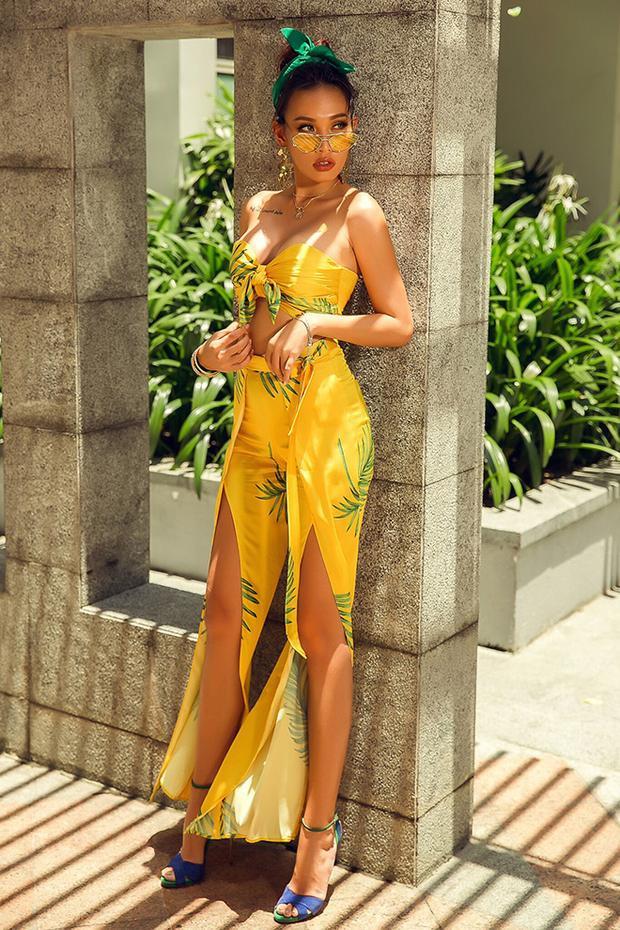 Chân dài làm mẹ đơn thân hot nhất nhì làng mốt Việt lúc này gợi ý cách mặc váy đẹp đón thu