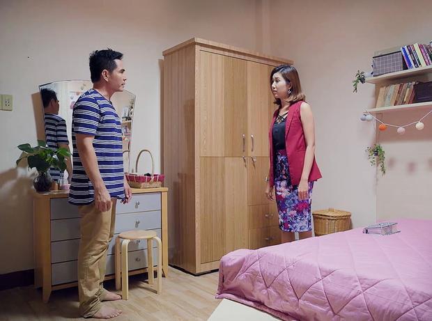Gạo nếp gạo tẻ tập 37: Lê Phương đau xót khi nhận ra mình đã đẩy chồng đến với người phụ nữ khác