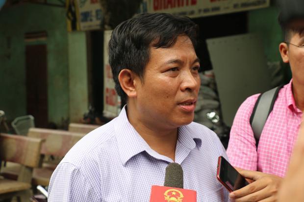 Ông Nguyễn Tiến Mạnh, Chủ tịch UBND phường Đồng Tiến.