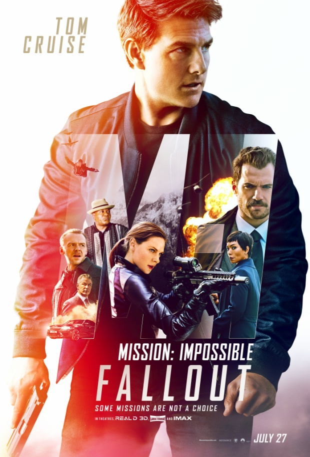 "Ngôi sao Tom Cruise trong ""Mission Impossible 6""."