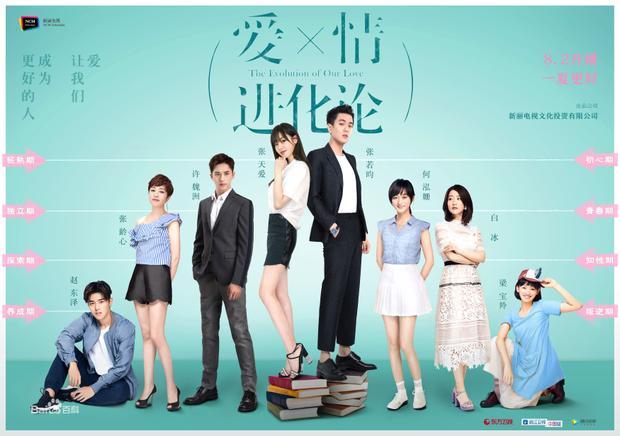 Trong phim, Trương Thiên Ái sẽ vướng phải mối tình tay ba đầy lãng mạn cùng nam chính Trương Nhược Quân và Hứa Ngụy Châu.